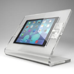 stand plexiglass da tavolo per tablet